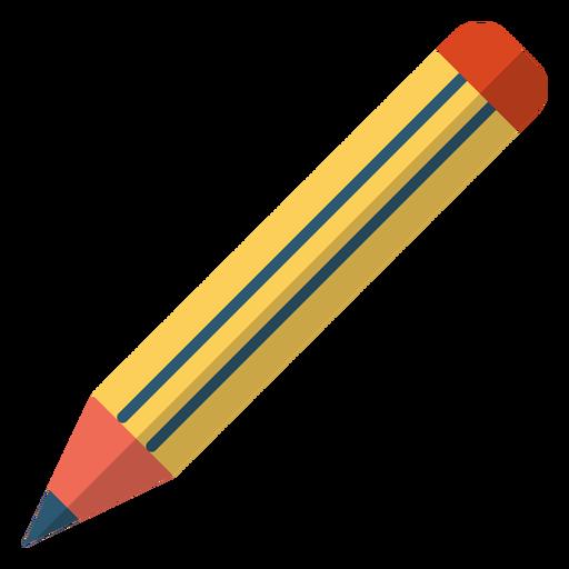Pencil school illustration Transparent PNG