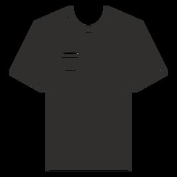 Ícone plana de bolso t-shirt