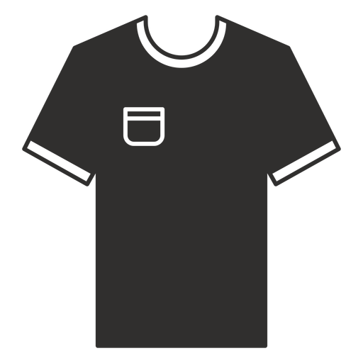 Pocket t shirt flat icon Transparent PNG