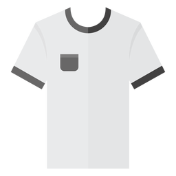 Icono de la camiseta del bolsillo