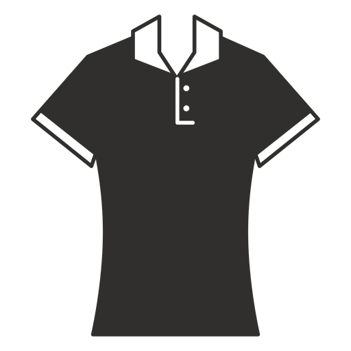 Polo t shirt flat icon Transparent PNG