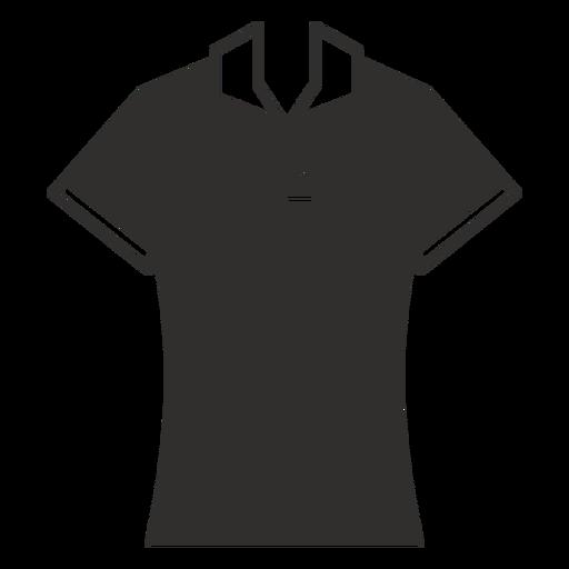 Polo t shirt flat icon