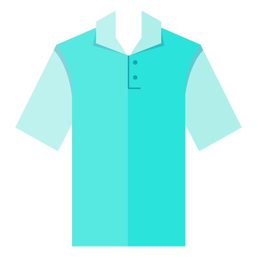 Icono de la camiseta polo Transparent PNG