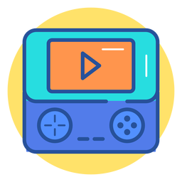 Portable game console icon