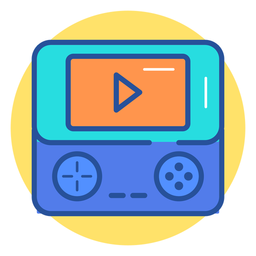 Portable game console icon Transparent PNG