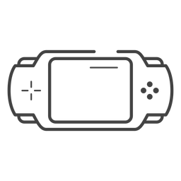 Pxp game console stroke icon