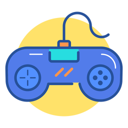 Retro gamepad icon