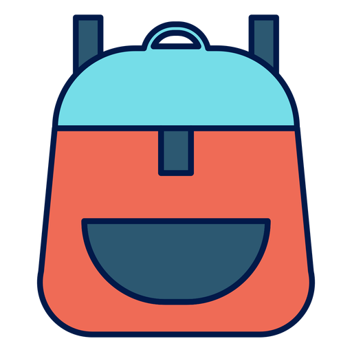 School backpack icon Transparent PNG