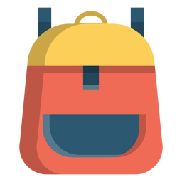 School backpack illustration