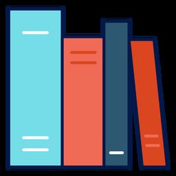 Ícone de livros escolares