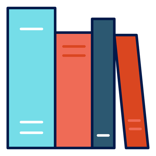 School books icon Transparent PNG