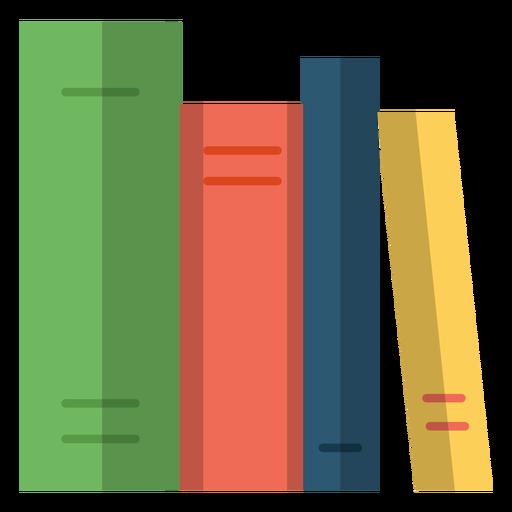 Ilustración de libros escolares Transparent PNG