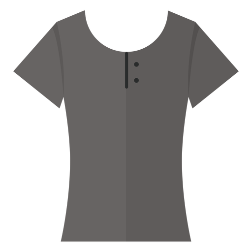 scoop henley t shirt icon transparent png svg vector file scoop henley t shirt icon transparent