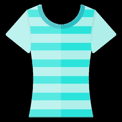 Scoop neck t shirt icon