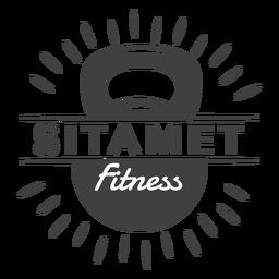 Logotipo de fitness de Sitamet