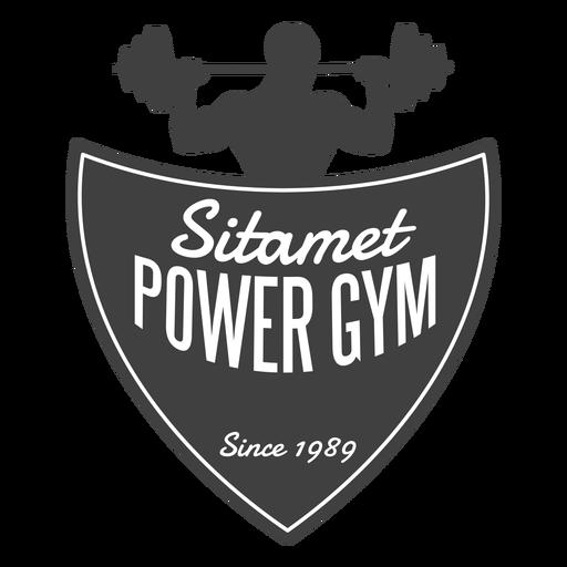Logotipo de Sitamet Power Gym
