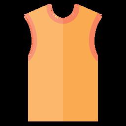 Ícone de camiseta sem mangas