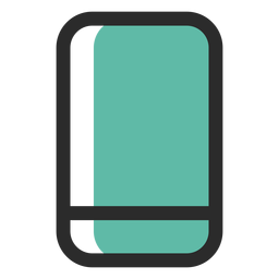 Smartphone colored stroke icon