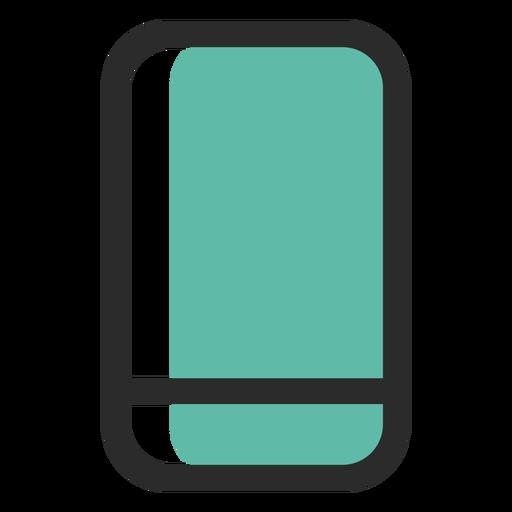 Smartphone icono de trazo de color Transparent PNG