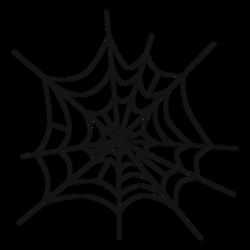 Dibujado a mano tela de araña Transparent PNG