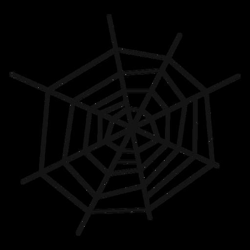 Mão de teia de aranha desenhada Transparent PNG