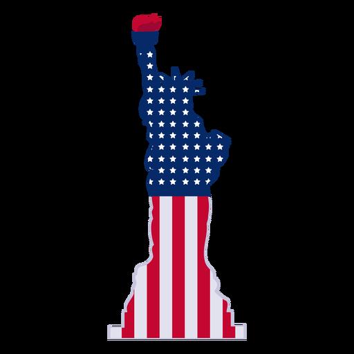 Estatua del elemento de diseño de la libertad Transparent PNG