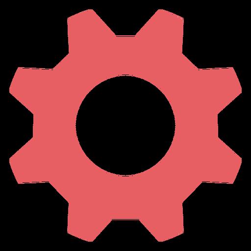 Ícone do traço colorido das configurações do sistema Transparent PNG
