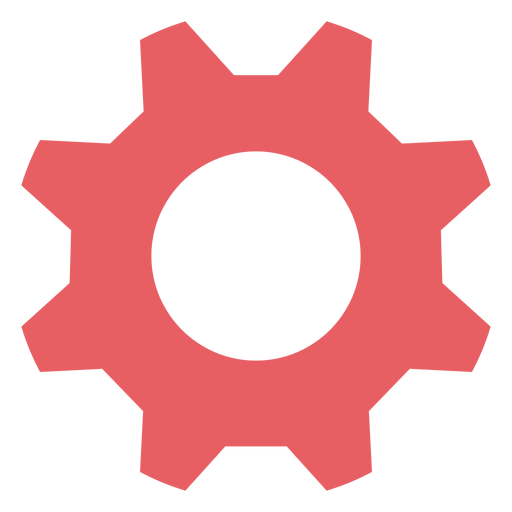 System settings colored stroke icon Transparent PNG