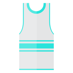 Icono de camiseta sin mangas