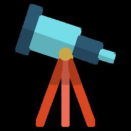 Ilustração de escola de telescópio