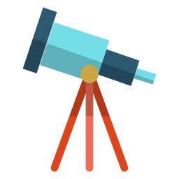Telescope school illustration