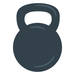 Training kettlebell icon
