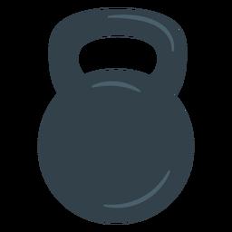 Treinando o ícone de kettlebell