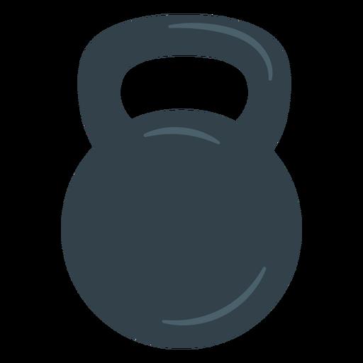 Icono de entrenamiento con pesas rusas