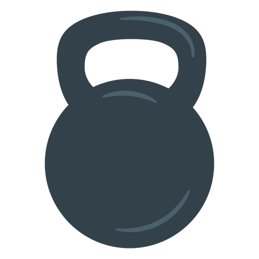 Training kettlebell icon Transparent PNG