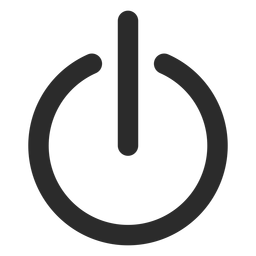 Turn off stroke icon