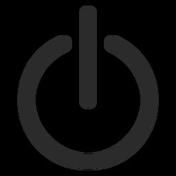Turn off stroke icon