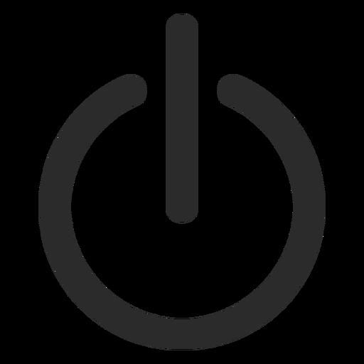 Desactivar icono de trazo Transparent PNG