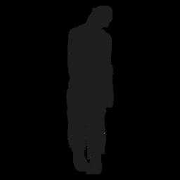 Undead zombie silhouette