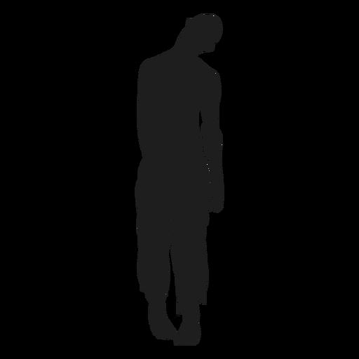 Silueta zombie no-muerto Transparent PNG