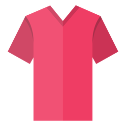V neck t shirt icon