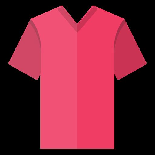 V neck t shirt icon