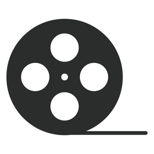 Video tape reel flat icon Transparent PNG