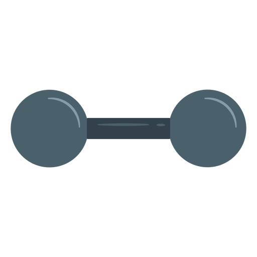 Vintage dumbbell icon Transparent PNG