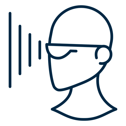 Proyección de gafas de realidad virtual. Transparent PNG