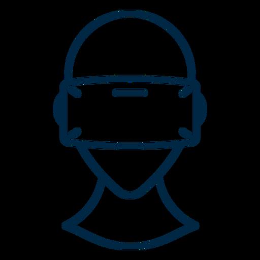 Óculos de realidade virtual Transparent PNG