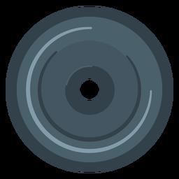 Icono de la placa de peso