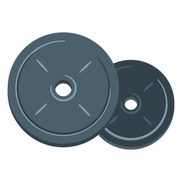 Gewichtsplatten-Symbol