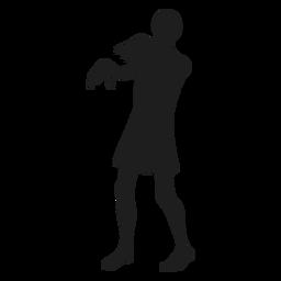 Zombie creature silhouette