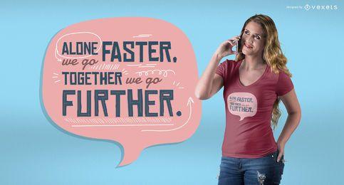 Zusammen T-Shirt Design